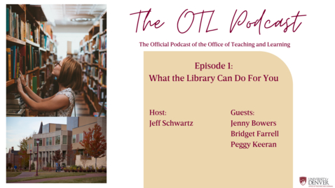 Thumbnail for entry OTL Podcast - Episode 1: What the Library Can Do For You