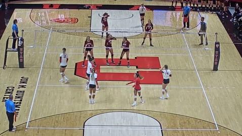 Thumbnail for entry Andrea Eddy #3 | Setter | University of Denver vs Utah