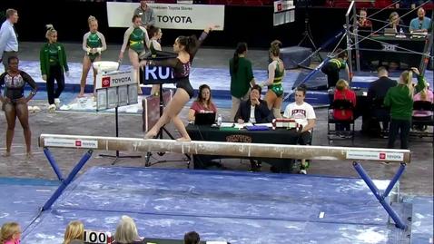 Thumbnail for entry Alexandria Ruiz - Beam (9.800) - 2020 DU Gymnastics vs. Washington, San Jose State & Alaska