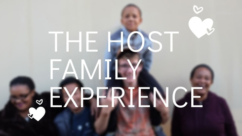 Thumbnail for entry The Host Family Experience