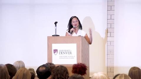 Thumbnail for entry Inclusive Global Leadership Institute Keynote Carmen Perez