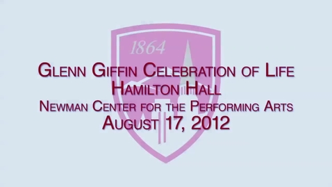 Thumbnail for entry Glen Giffin - Celebration of life