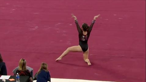 Thumbnail for entry Alexandria Ruiz - Floor (9.850) - 2020 DU Gymnastics vs. Washington, San Jose State & Alaska