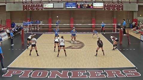 Thumbnail for entry Andrea Eddy #3 | Setter | University of Denver vs UC Santa Barbara