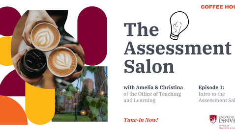 Thumbnail for entry The Assessment Salon. Episode 1: The Choreography of Assessment with Dr. Christina H. Paguyo and Amelia Gentile-Mathew