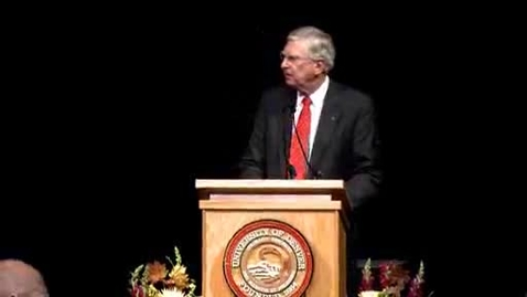 Thumbnail for entry 2008 Convocation Address with Chancellor Coombe