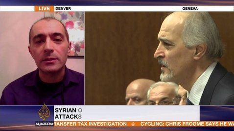 Thumbnail for entry Nader Hashemi Interview (Feb. 2, 2016) with Al Jazeera on Syria and the Peace Process