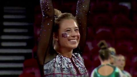 Thumbnail for entry Maddie Karr - Floor (9.950) - 2020 DU Gymnastics vs. Washington, San Jose State & Alaska