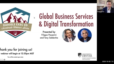 Thumbnail for entry Accelerate Webinar Series: Global Business Services & Digital Transformation