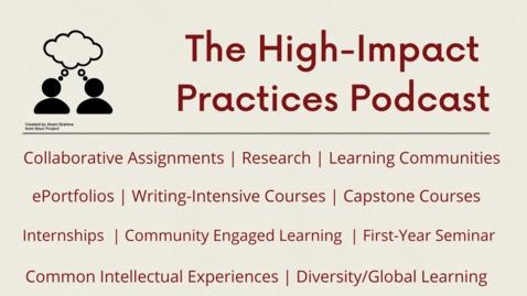 Thumbnail for entry Capstone Courses with Kareem El Damanhoury