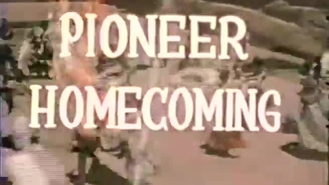 Thumbnail for entry Pioneer Homecoming