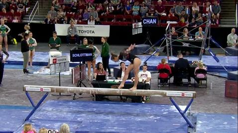 Thumbnail for entry Callie Schlottman - Beam (9.825) - 2020 DU Gymnastics vs. Washington, San Jose State & Alaska