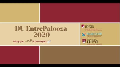 Thumbnail for entry DU EntrePalooza 2020 - Resources Panel