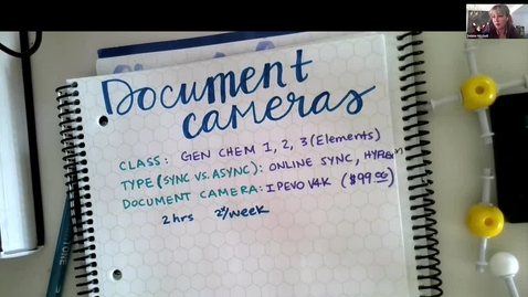 Thumbnail for entry Teaching with Video (Tablets, Cameras and Whiteboards) Webinar
