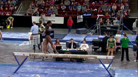 Thumbnail for entry Amoree Lockhart - Beam (9.750) - 2020 DU Gymnastics vs. Washington, San Jose State & Alaska