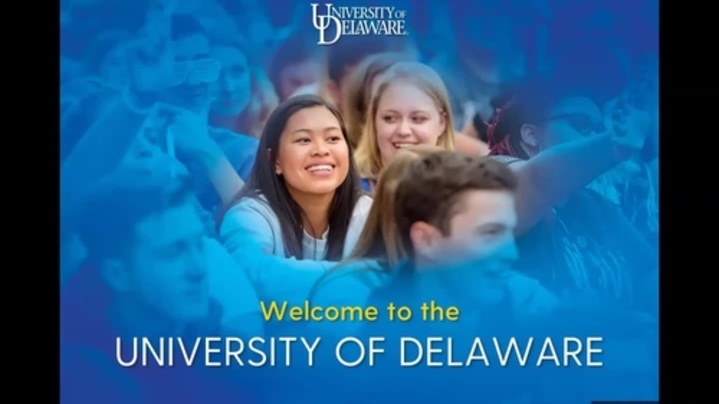 Thumbnail for channel UD Admissions presentations