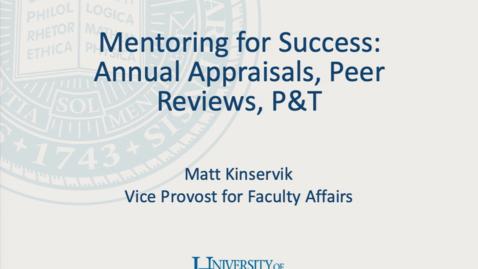 Thumbnail for entry 2019 Appraisals_Peer Reviews_Matt Kinservick