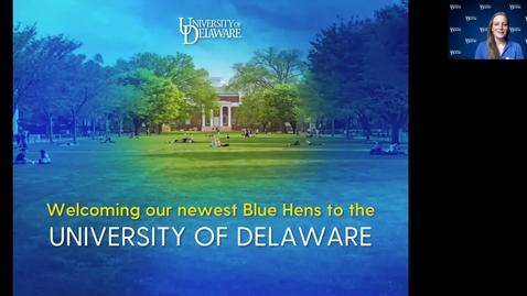 Thumbnail for entry Transfer Presentation — University of Delaware