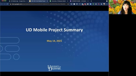 Thumbnail for entry UDMobile App Executive Sponsors May 14 2021