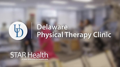 Thumbnail for entry Delaware Physical Therapy Clinic - 2021 Virtual Benefits and Wellbeing Informational Video