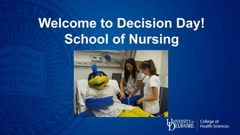 Thumbnail for entry School of Nursing — College of Health Sciences