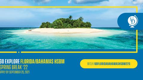 Thumbnail for entry 22S Florida/Bahamas HSBM - Spring Break