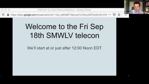 Thumbnail for entry SMWLV Rubin Obs LSST  meeting