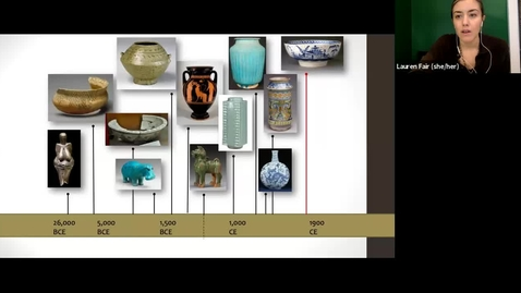 Thumbnail for entry live lecture 3/1/2021: identifying ceramic bodies (and a little bit about their long, interconnected histories) - Part II