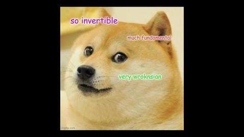 Thumbnail for entry VI.4 Homogeneous solutions