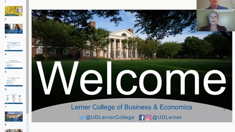 Thumbnail for entry Finance - Lerner Graduate New Student Orientation