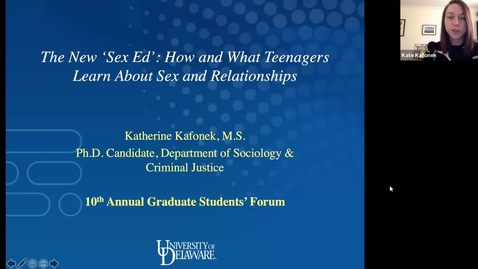Thumbnail for entry The new sex ed: How and what teenagers learn about sex and relationships, Katherine Kafonek