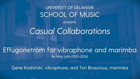 Thumbnail for entry Casual Collaborations: Koshninski Broscious