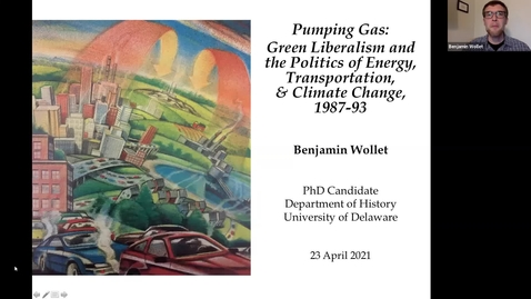 Thumbnail for entry Pumping Gas: Green Liberalism and the Politics of Energy, Transportation, and Climate Change, 1987-93, Benjamin Wollet