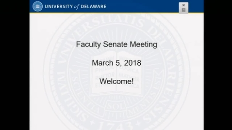 Thumbnail for entry 2017-2018/videos/10Faculty Senate Meeting March 5th 2018.mp4