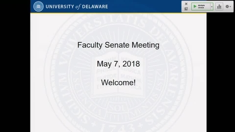 Thumbnail for entry 2017-2018/videos/15Faculty Senate Meeting May 7th 2018.mp4