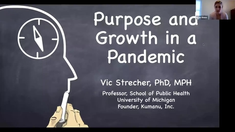 Thumbnail for entry Faculty Resilience Series: The Power of Purpose