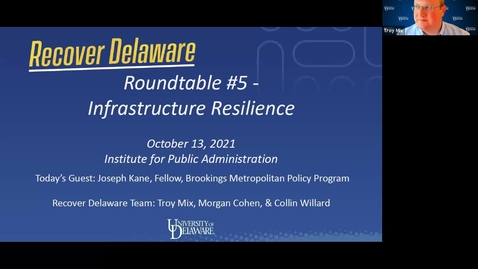 Thumbnail for entry Recover Delaware Roundtable #5