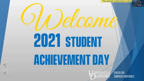 Thumbnail for entry Student Achievement Day Awards