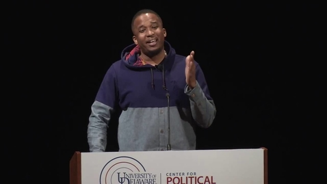 Thumbnail for entry National Agenda 2016, Oct. 5: D. Watkins, Salon Editor-at-Large, Professor and Author