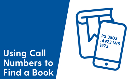 Thumbnail for entry Using Call Numbers to Find a Book