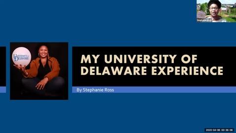 Thumbnail for entry Stephanie Ross —Honors Program