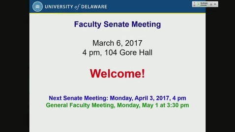 Thumbnail for entry 2016-2017/10Faculty Senate Monday March 6th 2017.mp4