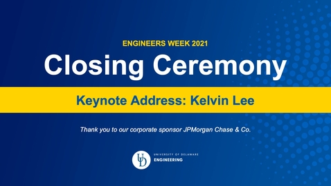 Thumbnail for entry EWeek 2021 Closing Ceremony Keynote Kelvin Lee