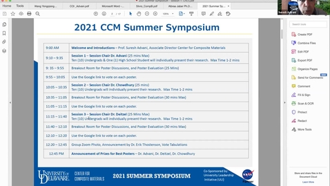 Thumbnail for entry 2021 CCM Summer Symposium