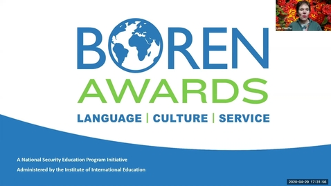 Thumbnail for entry Boren Award Information Session