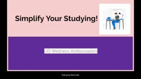 Thumbnail for entry Study Skills