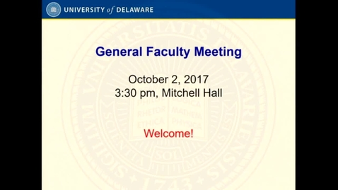 Thumbnail for entry 2017-2018/videos/04General Faculty Meeting October 2nd 2017.mp4