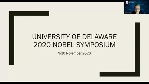 Thumbnail for entry 2020 Nobel Symposium Part 1