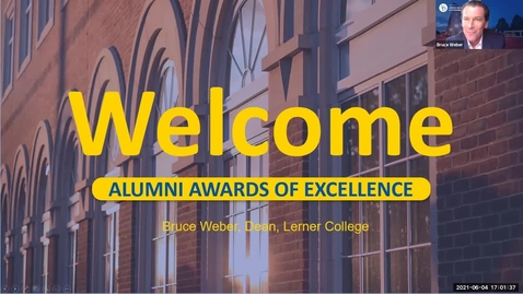 Thumbnail for entry Alumni Awards of Excellence 2021