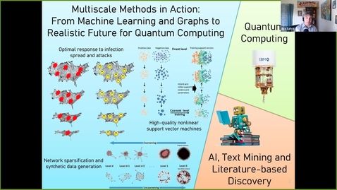 Thumbnail for entry Ilya Safro - UD ECE 2021/5/5 | Multiscale Methods in Action: From Machine Learning and Graphs to Realistic Future for Quantum